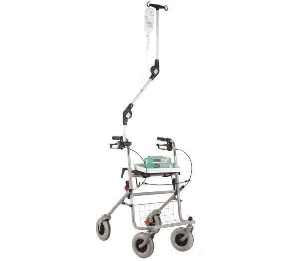 Infusionshalter 85 für Rollstühle und Rollatoren