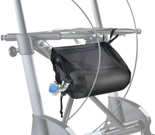 Sauerstoffflaschen-Netz für Rollatoren