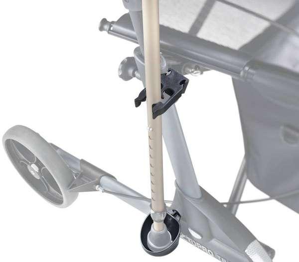 Stockhalter für Rollator Olympos
